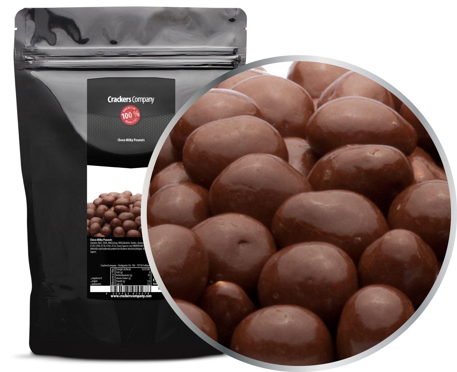 choco milky peanuts zip beutel 700g. Black Bedroom Furniture Sets. Home Design Ideas