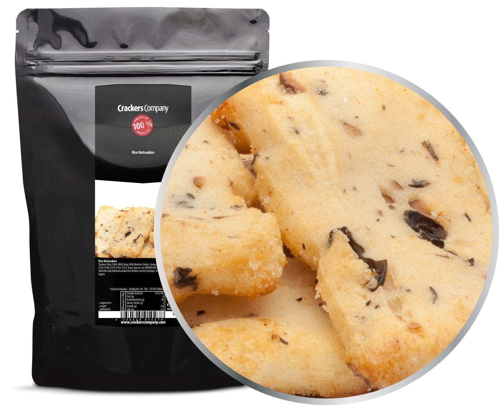 rice nutcookies zip beutel 150g. Black Bedroom Furniture Sets. Home Design Ideas