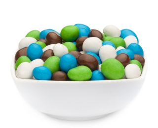 WHITE, GREEN, BLUE & BROWN PEANUTS