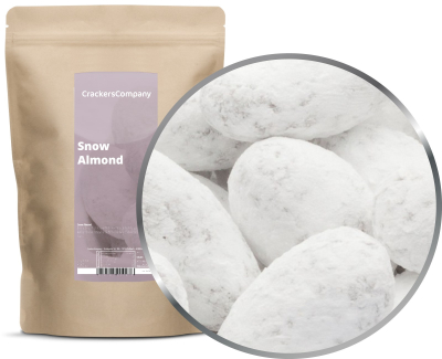 SNOW ALMOND ZIP Beutel 550g