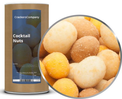 COCKTAIL NUTS Membrandose groß 500g