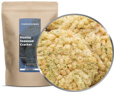 RISOTTO SEAWEED CRACKER ZIP Beutel 125g