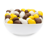 WHITE, YELLOW & BROWN PEANUTS