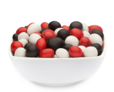 WHITE, RED & BLACK PEANUTS