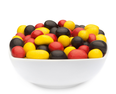 YELLOW, RED & BLACK PEANUTS