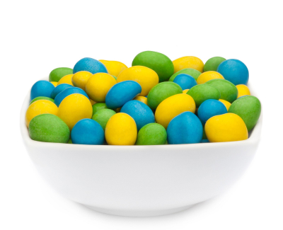 YELLOW, GREEN & BLUE PEANUTS