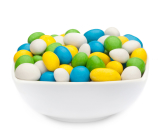 WHITE, YELLOW, GREEN & BLUE PEANUTS