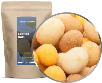 COCKTAIL NUTS ZIP Beutel 350g