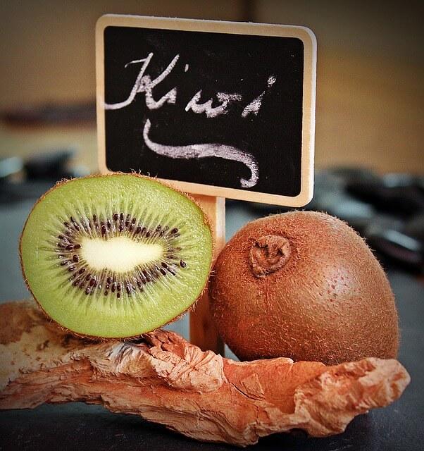 getrocknete Kiwi Scheiben