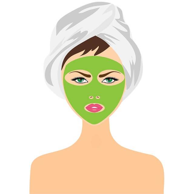 Nuss Gesichtsmaske