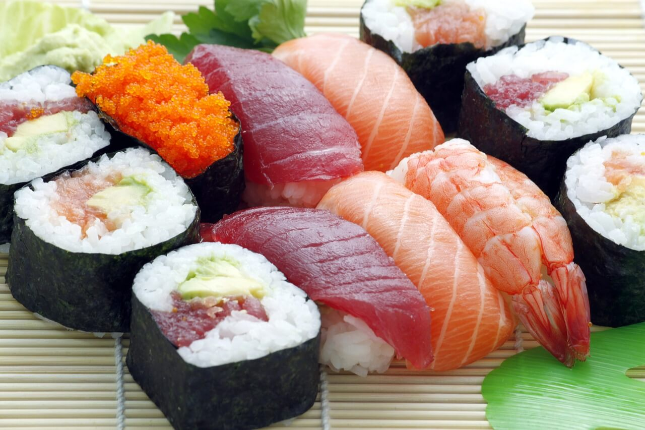 Sushi Wasabi Mischung